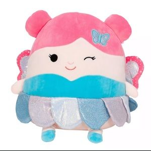 """Squishmallow Maxine Fairy Butterfly 11"""" Plush NWT"""